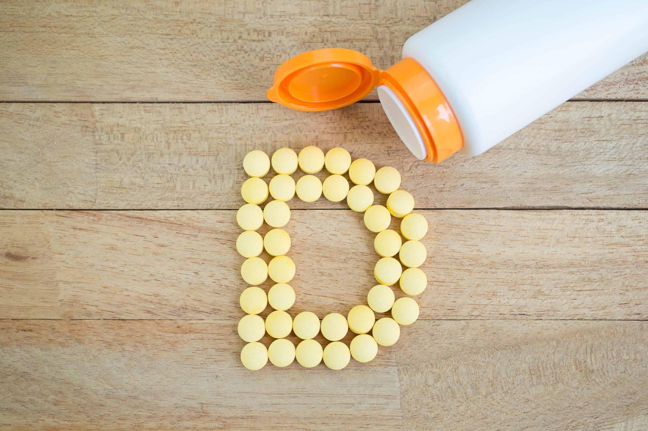 La vitamina d te ayuda a bajar de peso