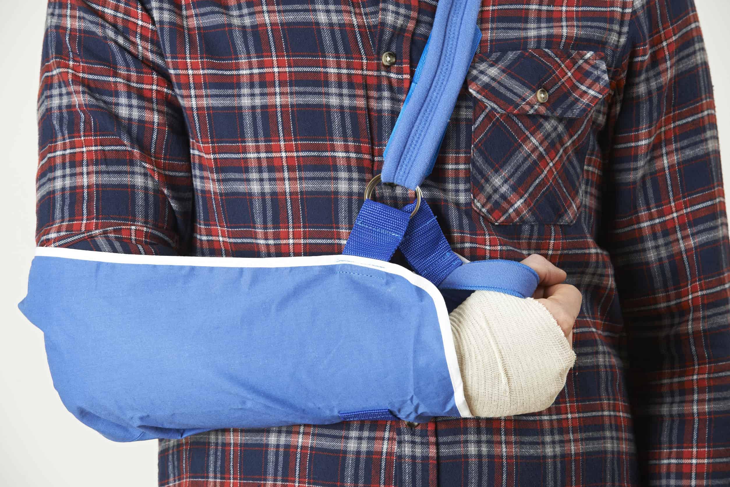 Qué causa el antebrazo inflamado