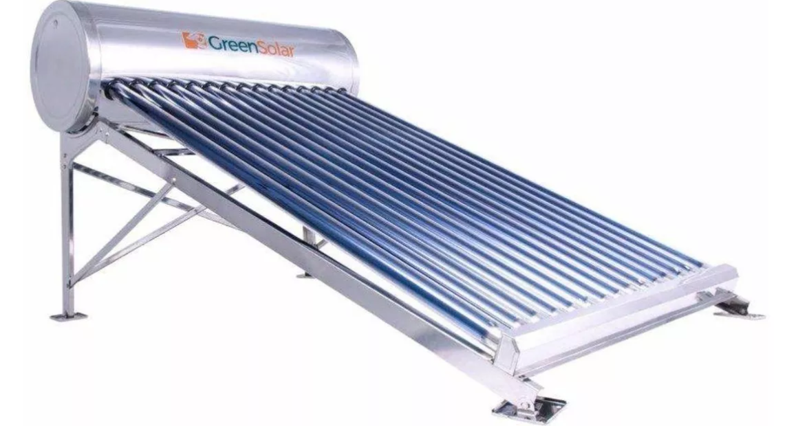 Calentador Solar Greensolar 15 Tubos 176 Litros