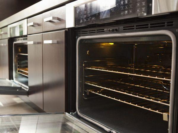 20741402 – open oven in industrial kitchen