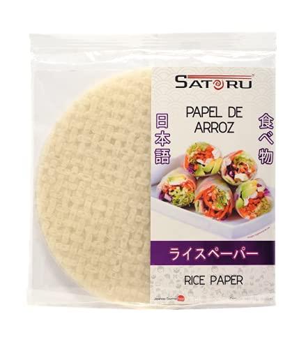 Satoru Papel de Arroz, Característico a papel arroz, 10 piezas