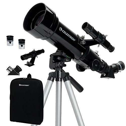 Celestron Telescopio de viaje 70 con mochila 3.3 pounds