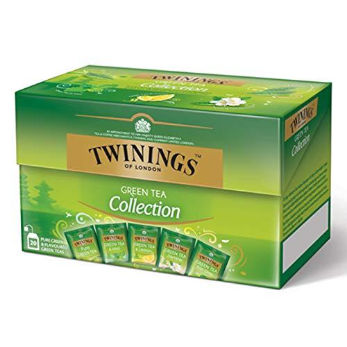 Twinings Green Tea Collection - Caja con 20 piezas