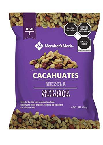 Cacahuates Mezcla Salada Member´s Mark. 850 gr.