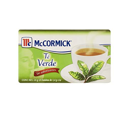 McCormick Té Verde 35 g, 25 bolsitas