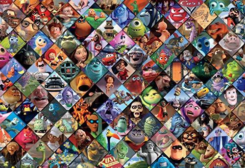 Ceaco Disney/Pixar Clips Rompecabezas de 2000 Piezas, Multicolor, 5 Pulgadas