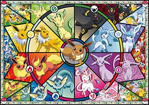 Buffalo Games - Pokémon - Cristal Manchado de Eevee - Rompecabezas de 500 Piezas