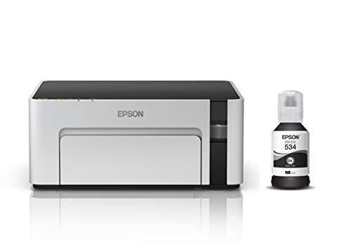 Epson Impresora blanco y negro Ecotank M1120 Monocromática, tanque de tinta para Negocio, Wi-Fi Direct