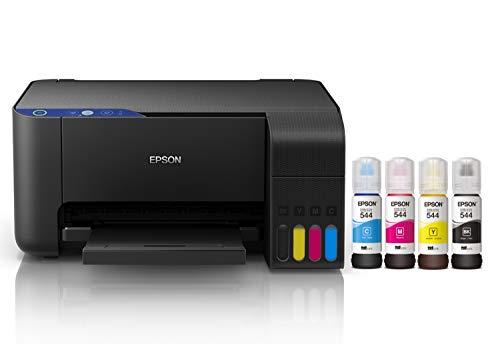 Epson Multifuncional Ecotank L3110, tanque de tinta a color para Hogar, USB