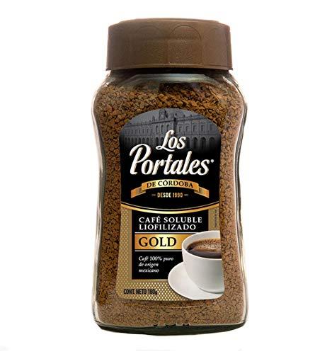 Café Soluble Gold Liofilizado, Frasco de Vidrio de 180 g