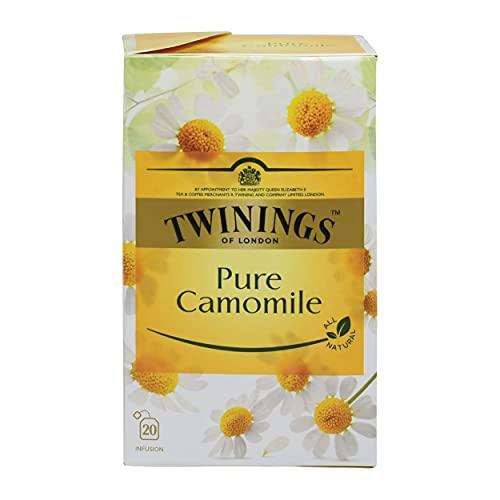Twinings, Twinings Pure Camomile, 20 sobres de 1 gramo cada uno