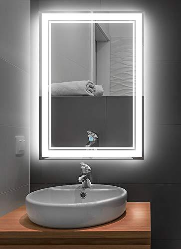 LUX SANY, Espejo De Tocador 60x80 Luz Led Touch, GY-7013