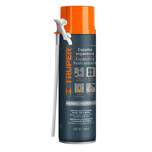 Truper ESEX-500, Espuma expansiva, multiusos, 500 ml