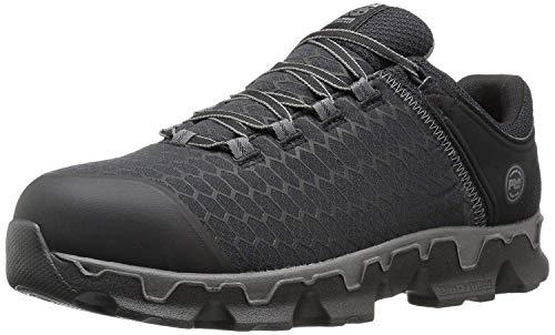 Timberland Pro Powertrain, Zapatos de aleación para Hombre, diseño Industrial y de construcción, Negro, sintético, 10 M US