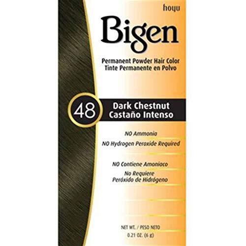 Bigen Tinte Polvo, Castaño Intenso, 6g