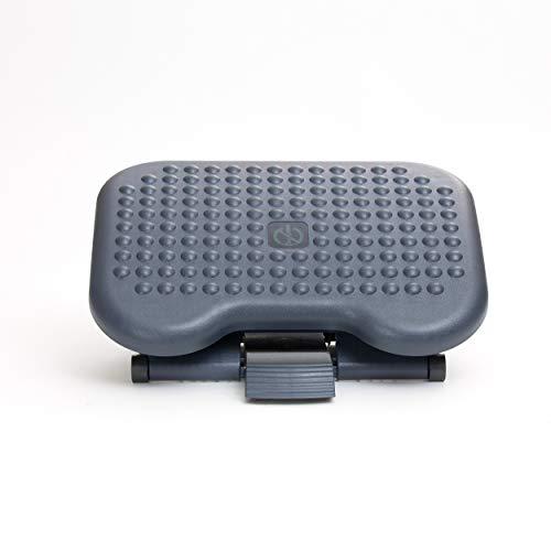 Mind Reader Cojín Lumbar de Malla Transpirable Ajustable para Todas Las sillas, solución para el Dolor de Espalda, de, FTREST, Negro, 1