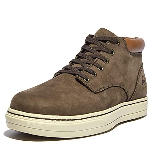 Timberland PRO Disruptor Chukka - Zapatos de seguridad para hombre (aleación y puntera de seguridad), multicolor/fantasía (Donkey Nubuck), 9 US