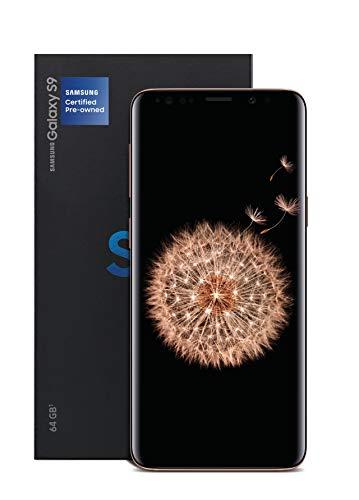 S9 Samsung Galaxy Smartphone 64gb Lte Midnight Black Liberado (Renewed)
