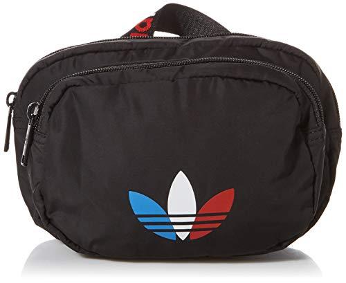 adidas Originals - Riñonera deportiva para viaje y festival, color negro, tri, talla única