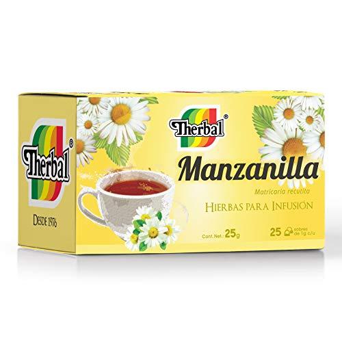 Therbal Infusion, 25 Sobres, Manzanilla