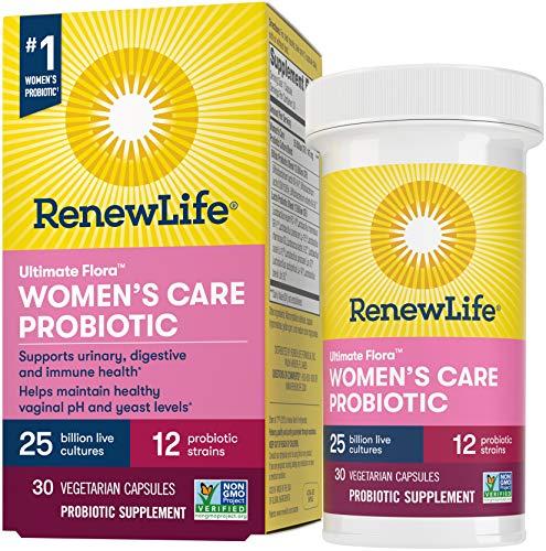 Renew Life Ultimate Flora Probiotic Formula, Women's Care, 30 Count
