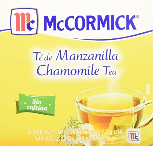 McCormick, Té de Manzanilla, 50 piezas