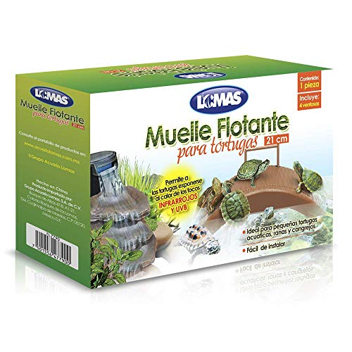 MUELLE FLOTANTE P/TORTUGAS
