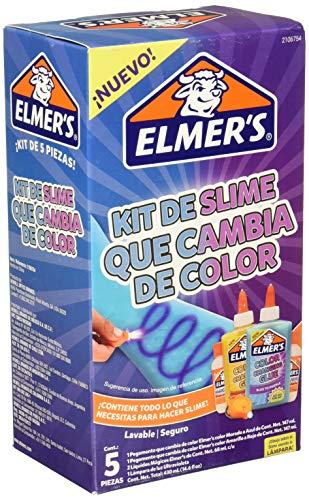 Elmer's Kit de Slime que Cambia de color, 5 piezas