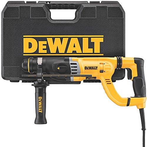 DEWALT D25263K D-Handle SDS Rotary Hammer with Shocks, 1-1/8