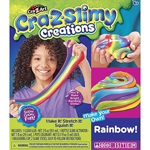 CraZart Juguete Slime Kit Creations Unicorn & Rainbow