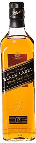 Whisky 12 Etiqueta Negra Johnnie Walker - 750 ml