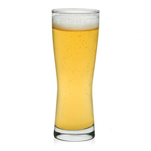 Libbey Set de 4 Vasos cerveceros Braves de 369 ml c/u