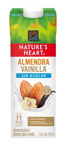 Nature's Heart Bebida de Almendra sabor Vainilla Sin Azúcar - 946 ml