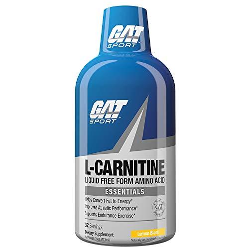 GAT L-Carnitina Líquida Ultra Pura 1500mg (Lemon Blast)