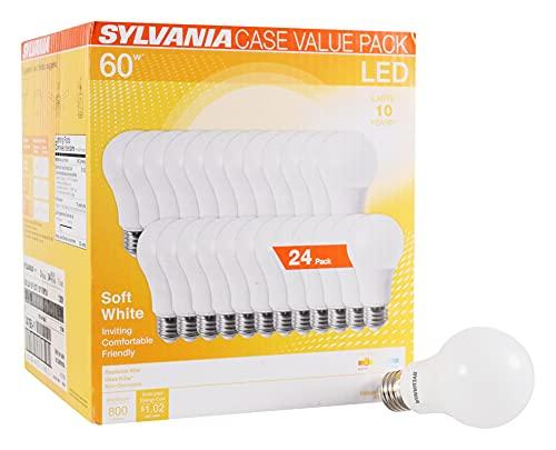 Sylvania Home Lighting, Lámparas LED 60W, 800 lumens, 24 Piezas