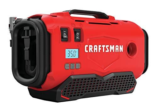 CRAFTSMAN V20 Inflador, solo herramienta (CMCE520B), rojo