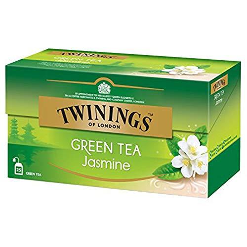 Twinings Green Tea Jasmine - Caja con 25 piezas