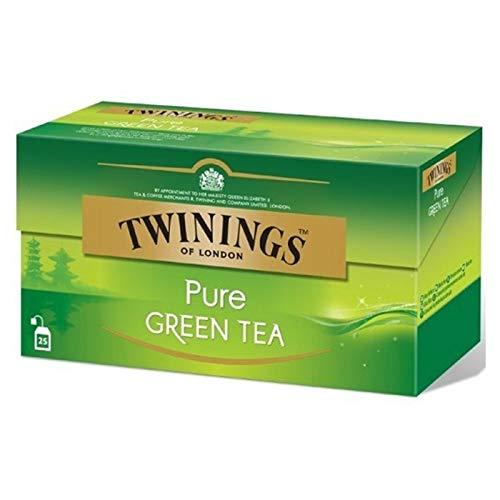 Twinings, Twinings Pure Green Tea, 25 sobres de 2 gramos cada uno