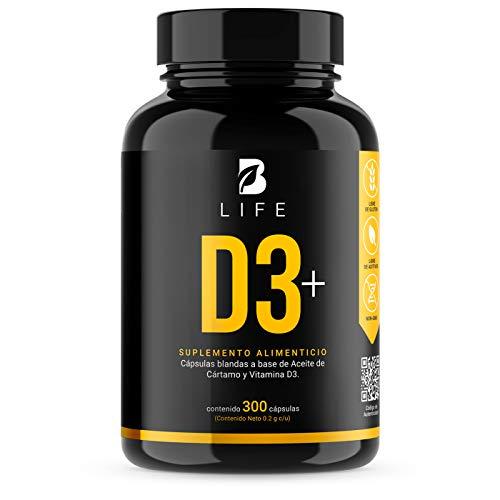 B Life Vitamina D3+ 400 UI - 300 Softgels