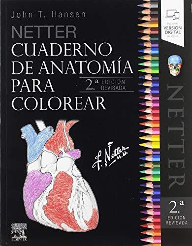Netter Cuaderno de anatomía para colorear