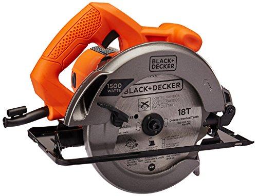 BLACK+DECKER Sierra Circular 7-1/4 Pulgadas 1500W CS1024-B3